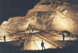 Powells Lode Cavern beneath Rhosesmor