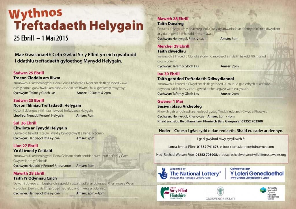 Wythnos Treftadaeth Helygain